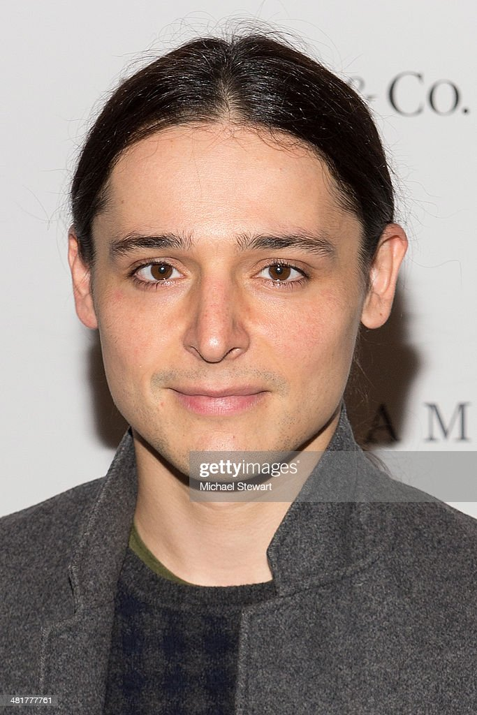Designer <a gi-track='captionPersonalityLinkClicked' href=/galleries/search?phrase=Olivier+Theyskens&family=editorial&specificpeople=4457035 ng-click='$event.stopPropagation()'>Olivier Theyskens</a> attends the 'Engram' screening at the Celeste Bartos Theater at the Museum of Modern Art on March 31, 2014 in New York City.