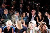 Designer Oscar De La Renta TV personality Andy Cohen actress Sarah Jessica Parker Barry Diller Chairman and Senior Executive of IAC/InterActiveCorp...