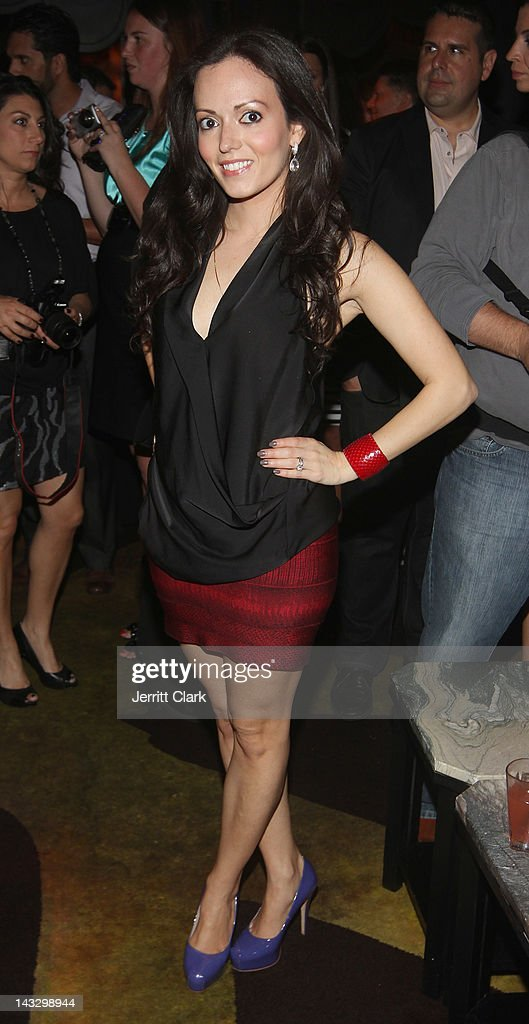 Designer Pamela Pekerman attends the 'Real Housewives of New Jersey' Season 4 viewing party at The Chandelier Room on April 22, 2012 in Hoboken, New Jersey.