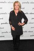 Designer Pamella Roland attends the Pamella Roland show during Spring 2014 MercedesBenz Fashion Week at The Studio at Lincoln Center on September 9...