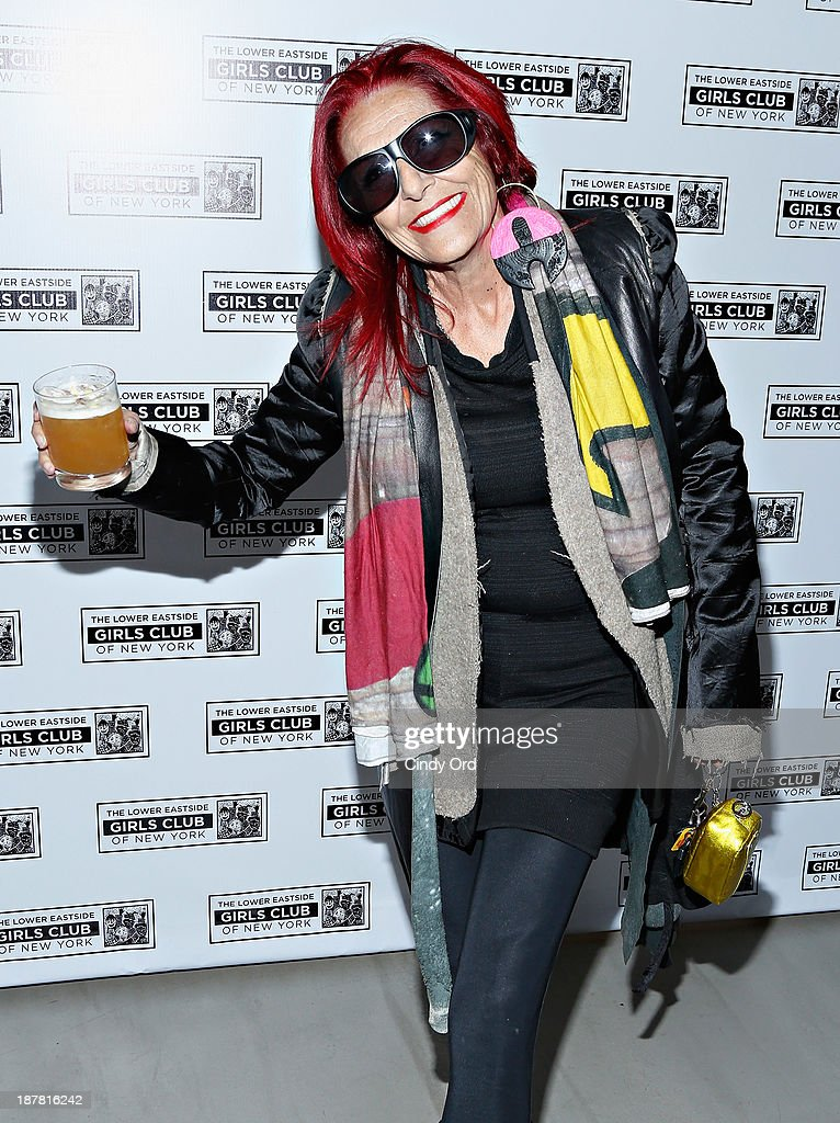 Designer Patricia Field attends the Lower East Side Girls Club Grand Opening Gala on November 12, 2013 in New York City.