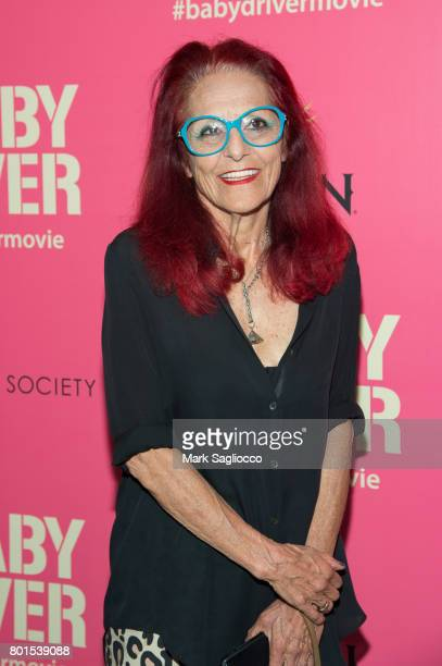 Designer Patricia Fields attends TriStar Pictures The Cinema Society and Avion's screening of 'Baby Driver' at The Metrograph on June 26 2017 in New...