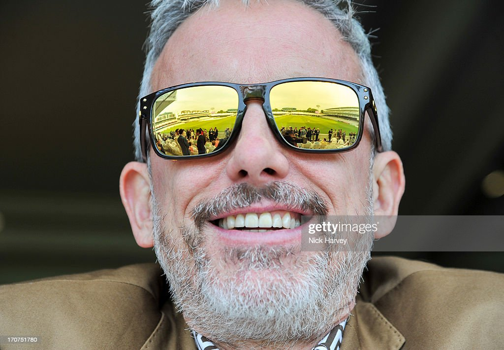 Designer Patrick Cox attends the Savile Row St James' Presentation during the London Collections MEN SS14 at Lord's Cricket Ground on June 17 2013 in...