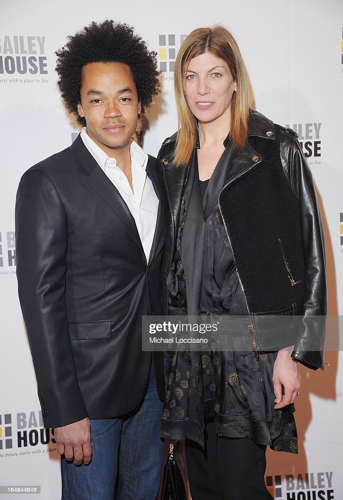 Designer Patrick Robinson and Vogue Fashion Market/Accessories Director Virginia Smith attend the Bailey House 30th Anniversary Gala at Pier 60 on March 28, 2013 in New York City.