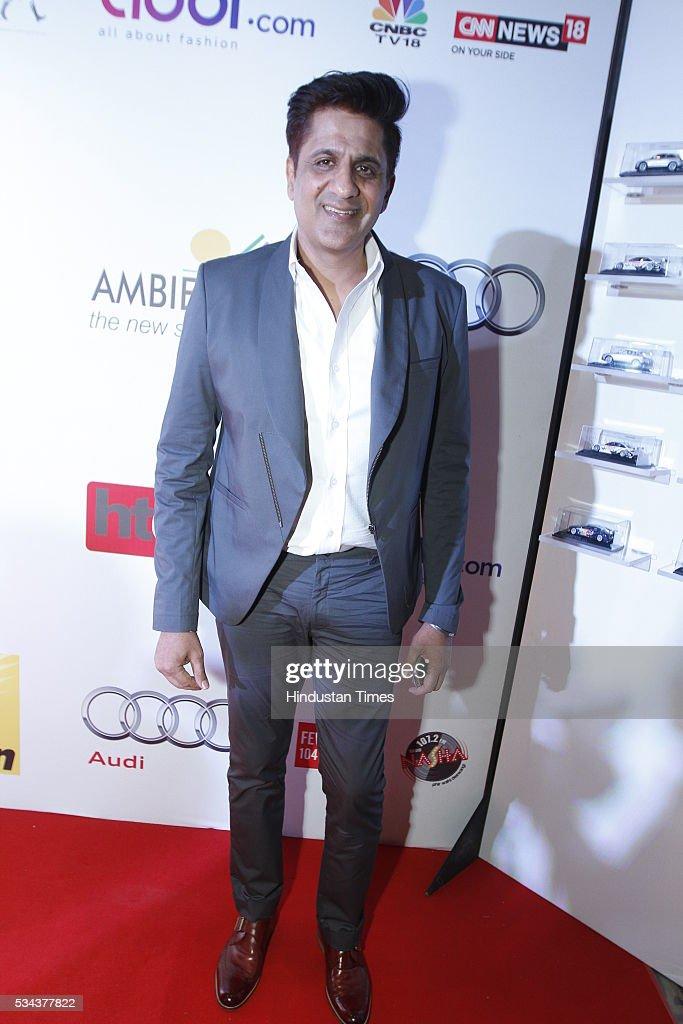 Designer Pawan Sachdeva during a sixth edition of Hindustan Times Most Stylish Awards 2016 at Hotel JW Marriot, Aerocity on May 24, 2016 in New Delhi, India.
