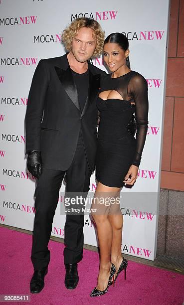 Designer Peter Dundas and singer Ciara arrive at the MOCA NEW 30th anniversary gala held at MOCA Grand Avenue on November 14 2009 in Los Angeles...