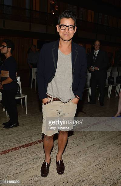 Designer Peter Som attends the Elle Fashion | Next Spring 2013 fashion show during MercedesBenz Fashion Week at David H Koch Theater Lincoln Center...