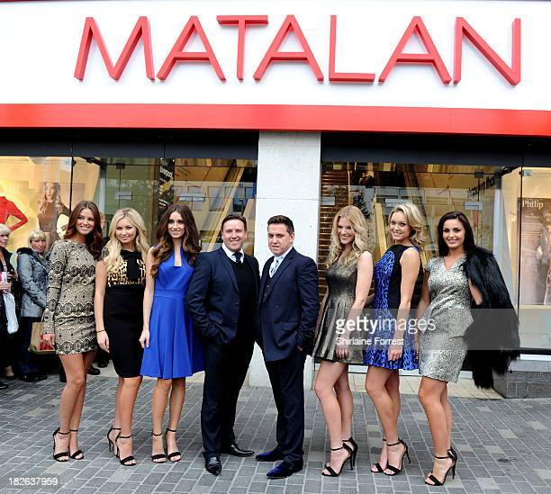 Designer Philip Armstrong opens the new Matalan store at Matalan on October 2 2013 in Liverpool England