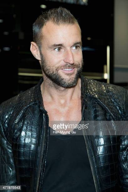 Designer Philipp Plein attends the Philipp Plein S/S 2014 Collection at Lotte Department Store on March 11 2014 in Seoul South Korea