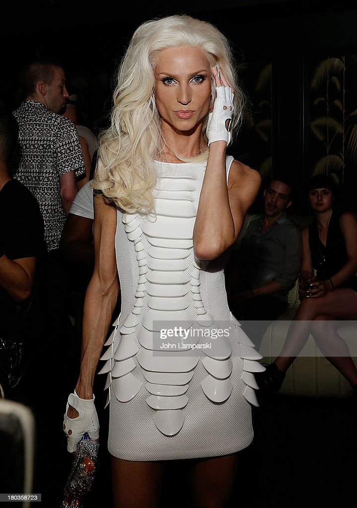 Designer Phillip Blond attends The Blonds Mercedes-Benz Fashion Week Spring 2014 After Party at No. 8 on September 11, 2013 in New York City.