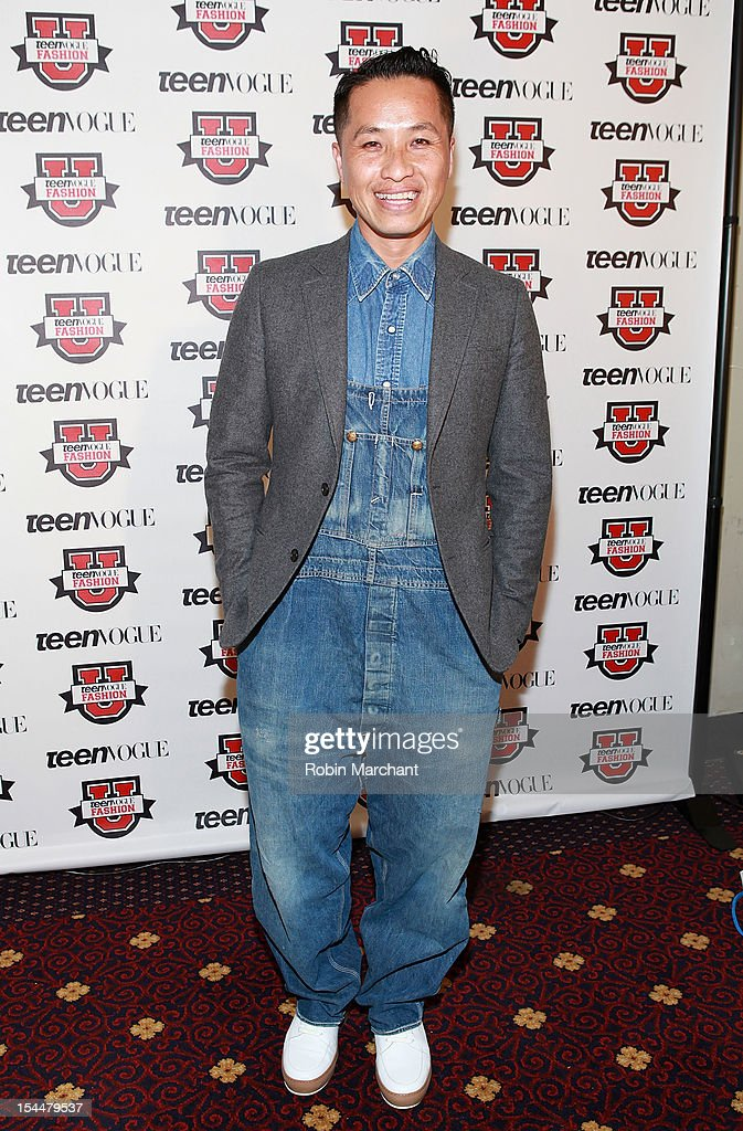 Designer Phillip Lim attends Teen Vogue Fashion University at the Hudson Theatre on October 20, 2012 in New York City.