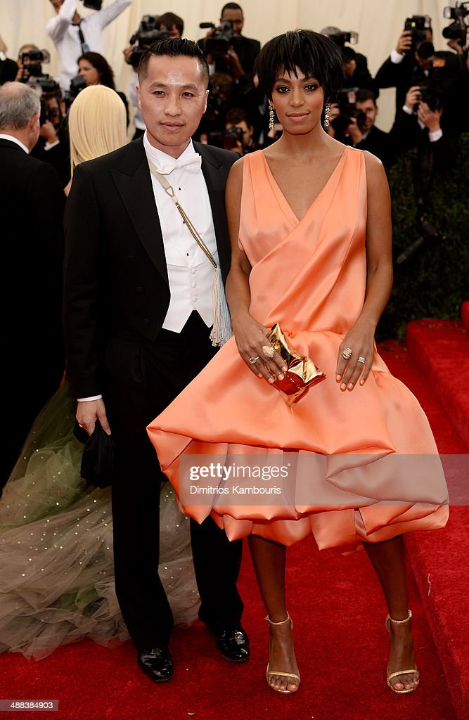 Designer Phillip Lim Solange Knowles attends the 'Charles James: Beyond Fashion' Costume Institute Gala at the Metropolitan Museum of Art on May 5, 2014 in New York City.