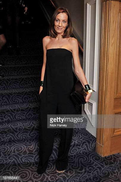 Designer Phoebe Philo attends the British Fashion Awards 2010 at The Savoy Theatre on December 7 2010 in London England