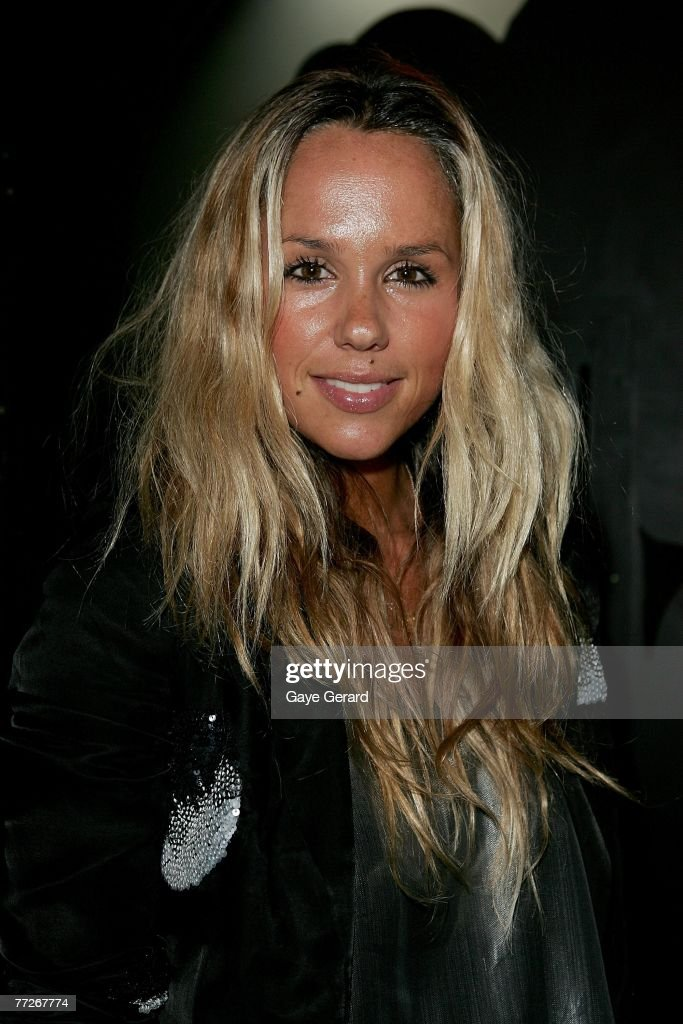 Designer Pip Edwards of Ksubi attends the Sass Bide eyewear launch and RAFW wrap party closing the third and final day of Rosemount Australian...