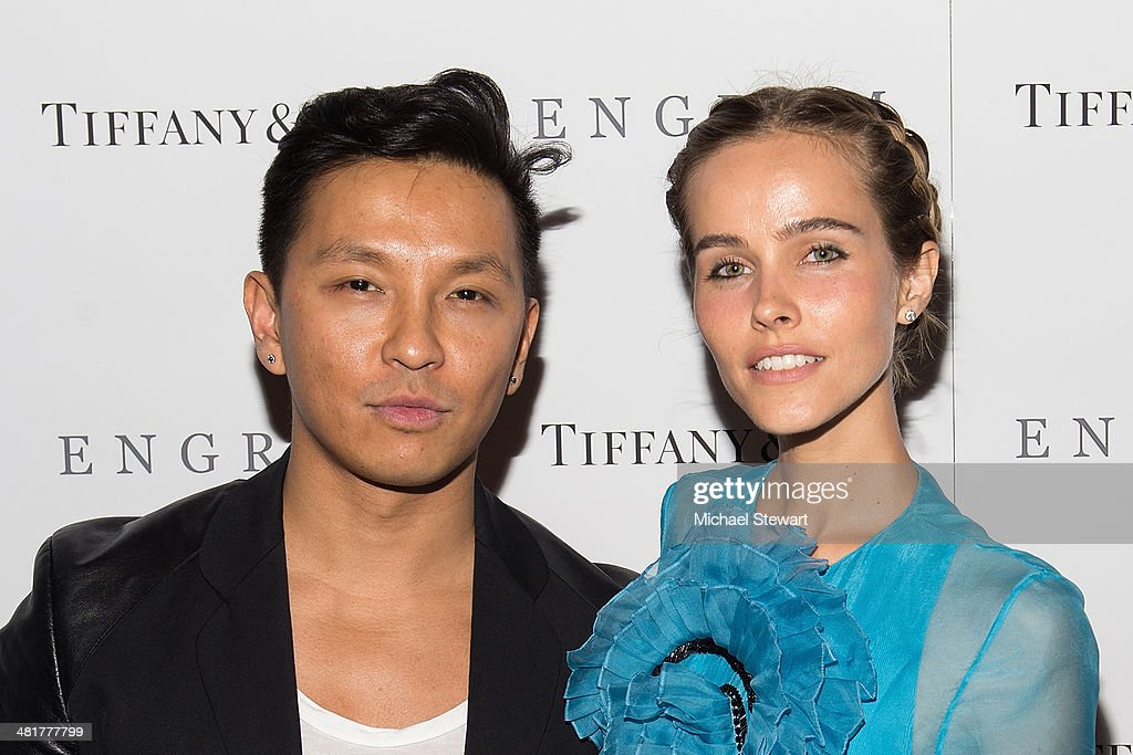Designer Prabal Gurung (L) and actress <a gi-track='captionPersonalityLinkClicked' href=/galleries/search?phrase=Isabel+Lucas&family=editorial&specificpeople=242957 ng-click='$event.stopPropagation()'>Isabel Lucas</a> attend the 'Engram' screening at the Celeste Bartos Theater at the Museum of Modern Art on March 31, 2014 in New York City.