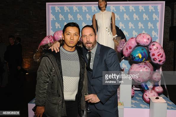 Designer Prabal Gurung and Alexis Bittar attend the Alexis Bittar NYFW 25th Anniversary With Lucite presentation during MercedesBenz Fashion Week...