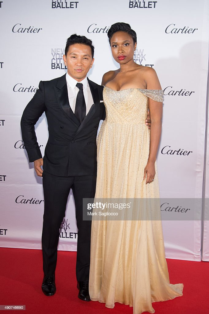 Designer Prabal Gurung (L) and Singer Jennifer Hudson attends the 2015 New York City Ballet Fall Gala at the David H. Koch Theater at Lincoln Center on September 30, 2015 in New York City.