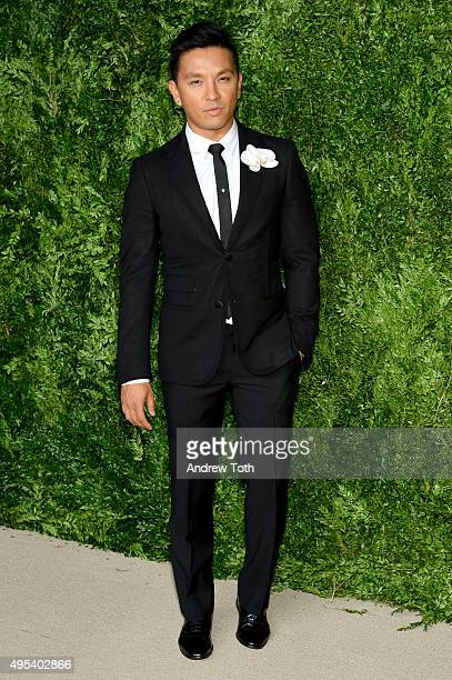 Designer Prabal Gurung attends the 12th annual CFDA/Vogue Fashion Fund Awards at Spring Studios on November 2 2015 in New York City