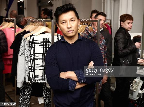 Designer Prabal Gurung attends the Jeffrey Fashion Cares VIP kick off event at Jeffrey New York on February 3 2014 in New York City
