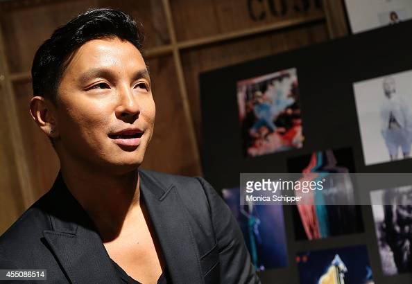 Designer Prabal GurungÊbackstage at the ICB fashion show during MercedesBenz Fashion Week Spring 2015 at Art Beam on September 9 2014 in New York City