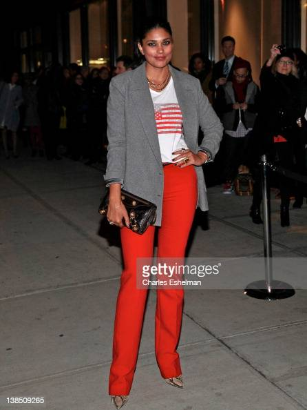 Designer Rachael Roy attends the 2012 Runway To Win Launch at Theory on February 7 2012 in New York City