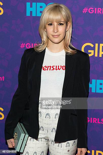 Designer Rachel Antonoff attends the 'Girls' season three premiere at Jazz at Lincoln Center on January 6 2014 in New York City