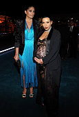 Designer Rachel Roy and tv personality Kim Kardashian West attend LACMA 2015 ArtFilm Gala Honoring James Turrell and Alejandro G Iñárritu Presented...