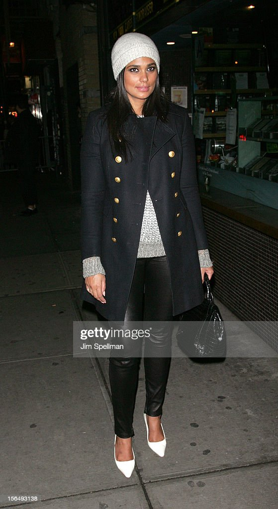 Designer Rachel Roy attend The Cinema Society with The Hollywood Reporter & Samsung Galaxy screening of 'The Twilight Saga: Breaking Dawn Part 2' on November 15, 2012 at the Landmark Sunshine Cinema in New York City.