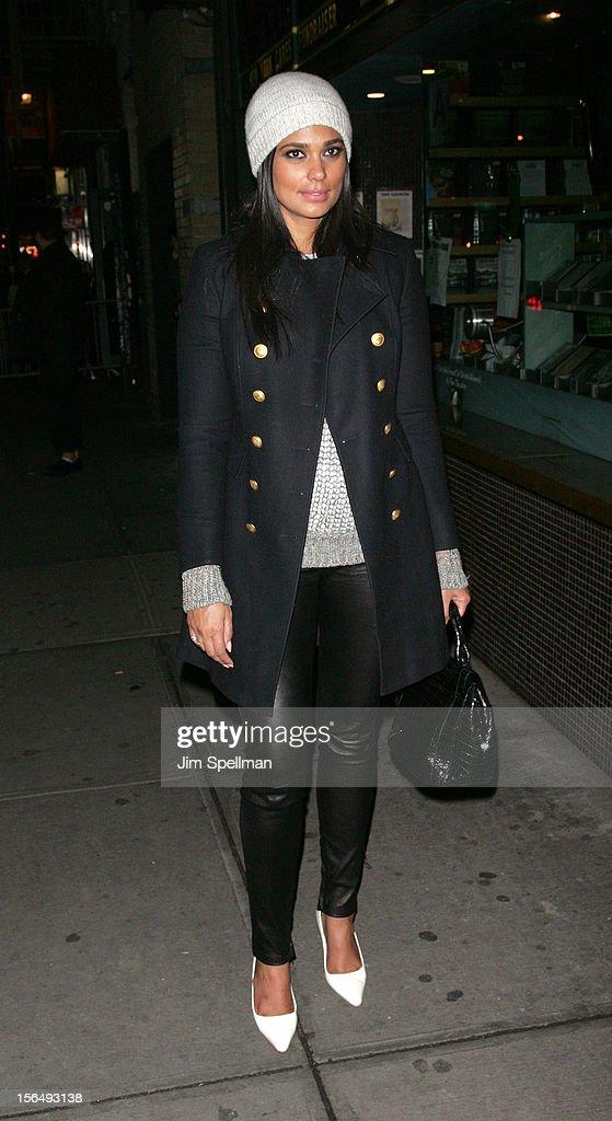 Designer Rachel Roy attend The Cinema Society with The Hollywood Reporter & Samsung Galaxy screening of 'The Twilight Saga: Breaking Dawn Part 2' on November 15, 2012 at the Landmark Sunshine Cinema in New York City.