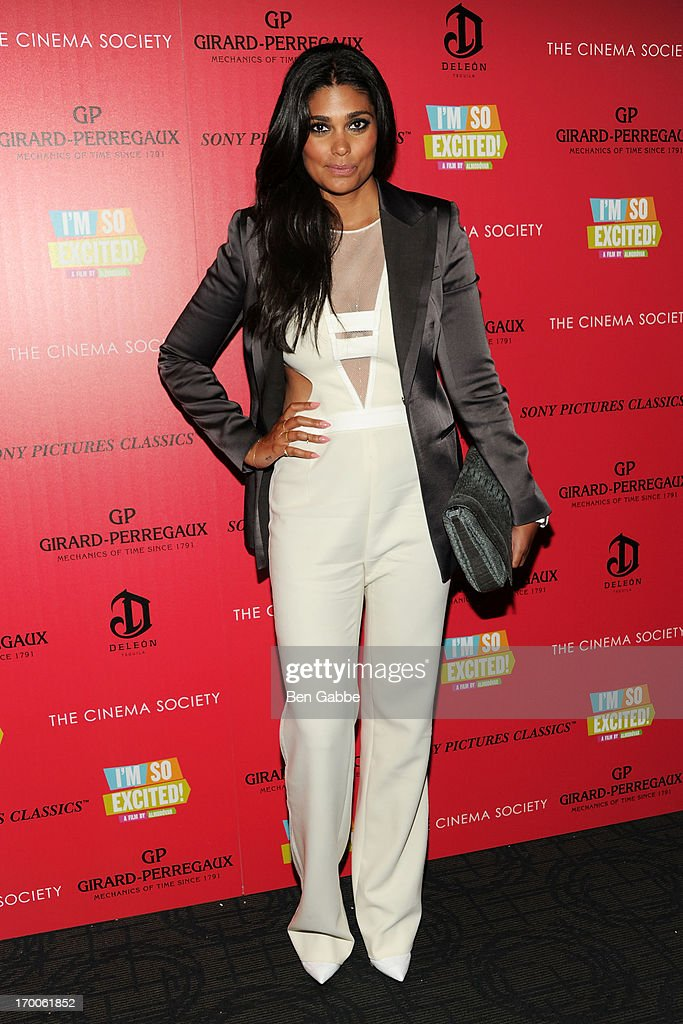 Designer Rachel Roy attends a screening of Sony Pictures Classics' 'I'm So Excited' hosted by Girard-Perregaux and The Cinema Society with DeLeon at Sunshine Landmark on June 6, 2013 in New York City.