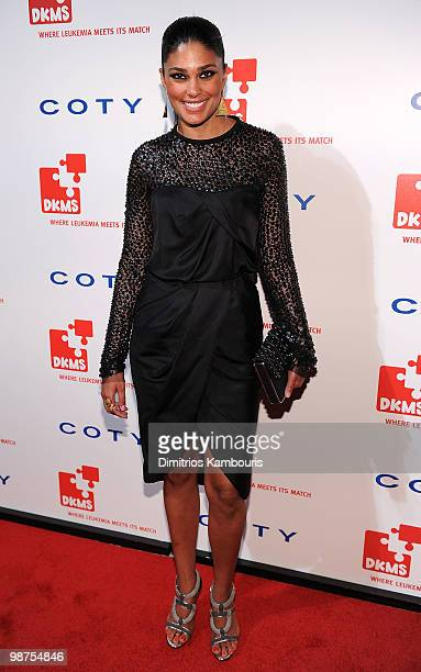 Designer Rachel Roy attends DKMS' 4th Annual Gala Linked Against Leukemia at Cipriani 42nd Street on April 29 2010 in New York City