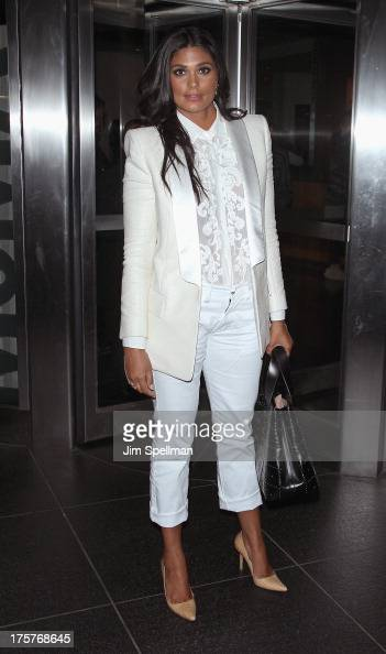 Designer Rachel Roy attends 'Jobs' New York Premiere at MOMA on August 7 2013 in New York City