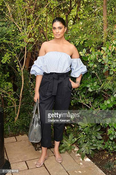 Designer Rachel Roy attends NETAPORTER Celebrates Women Behind The Lens at Chateau Marmont on February 26 2016 in Los Angeles California