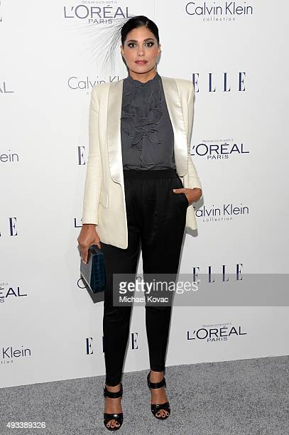 Designer Rachel Roy attends the 22nd Annual ELLE Women in Hollywood Awards at Four Seasons Hotel Los Angeles at Beverly Hills on October 19 2015 in...