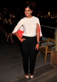 Designer Rachel Roy attends the after party for the Cinema Society Screening of 'Trishna' at Jimmy At The James Hotel on July 10 2012 in New York City