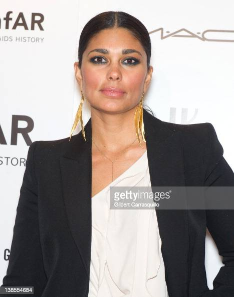 Designer Rachel Roy attends the amfAR New York Gala To Kick Off Fall 2012 Fashion Week at Cipriani Wall Street on February 8 2012 in New York City