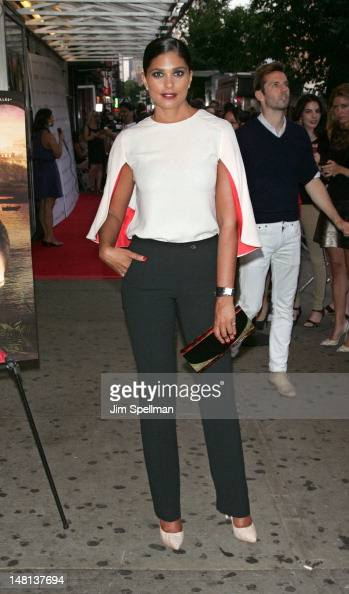 Designer Rachel Roy attends The Cinema Society with Rachel Roy Circa screening of 'Trishna' at the IFC Center on July 10 2012 in New York City