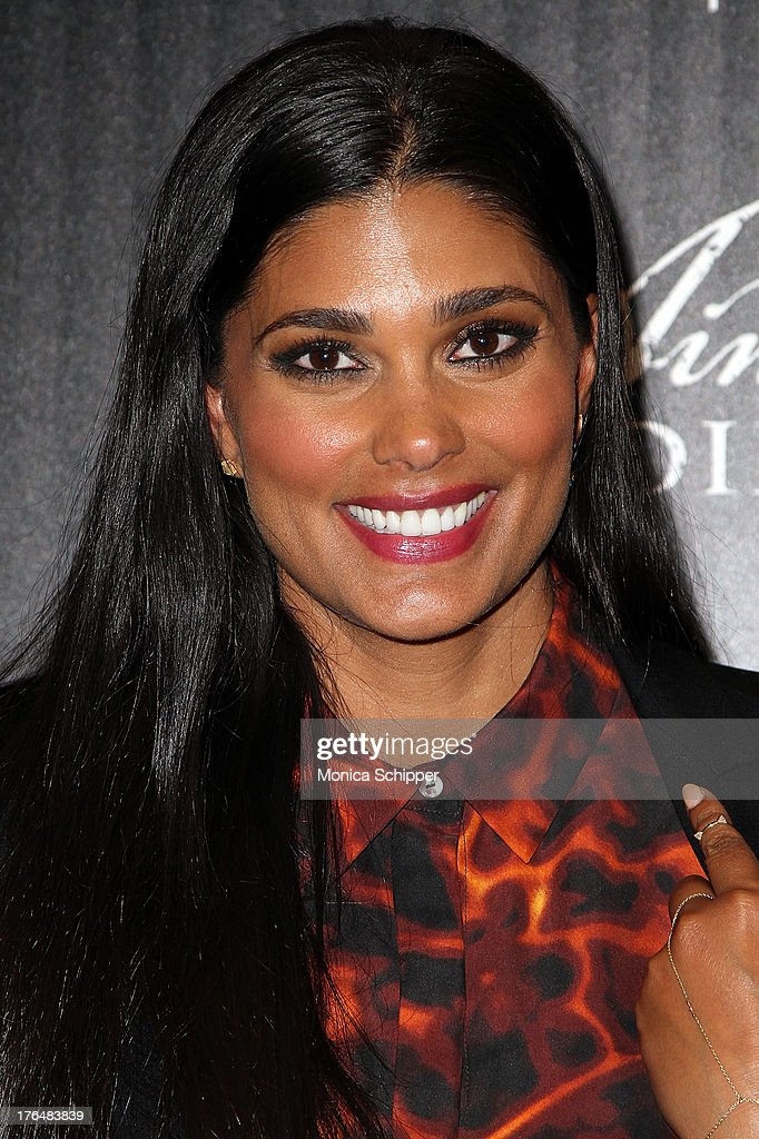 Designer Rachel Roy attends the Downtown Calvin Klein with The Cinema Society screening of IFC Films' 'Ain't Them Bodies Saints' at The Museum of Modern Art on August 13, 2013 in New York City.