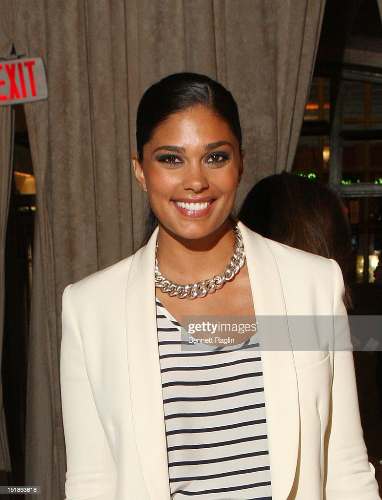 Designer Rachel Roy attends the Marchesa show during Spring 2013 Mercedes-Benz Fashion Week at Grand Central Terminal on September 12, 2012 in New York City.