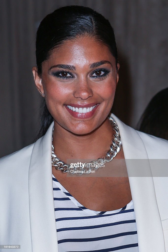 Designer Rachel Roy attends the Marchesa spring 2013 fashion show during Mercedes-Benz Fashion Week at Vanderbilt Hall at Grand Central Terminal on September 12, 2012 in New York City.