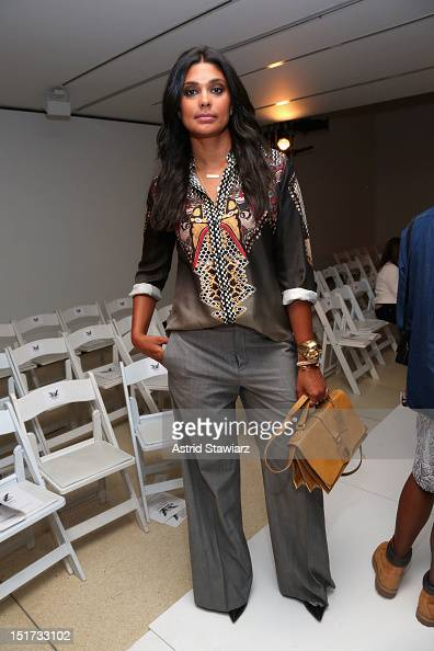 Designer Rachel Roy attends the Mark McNairy New Amsterdam Spring 2013 fashion show during MercedesBenz Fashion Week at New York Public Library at...