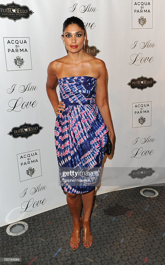 Designer Rachel Roy attends the premiere of 'I Am Love' at the School of Visual Arts Theater on June 16, 2010 in New York City.