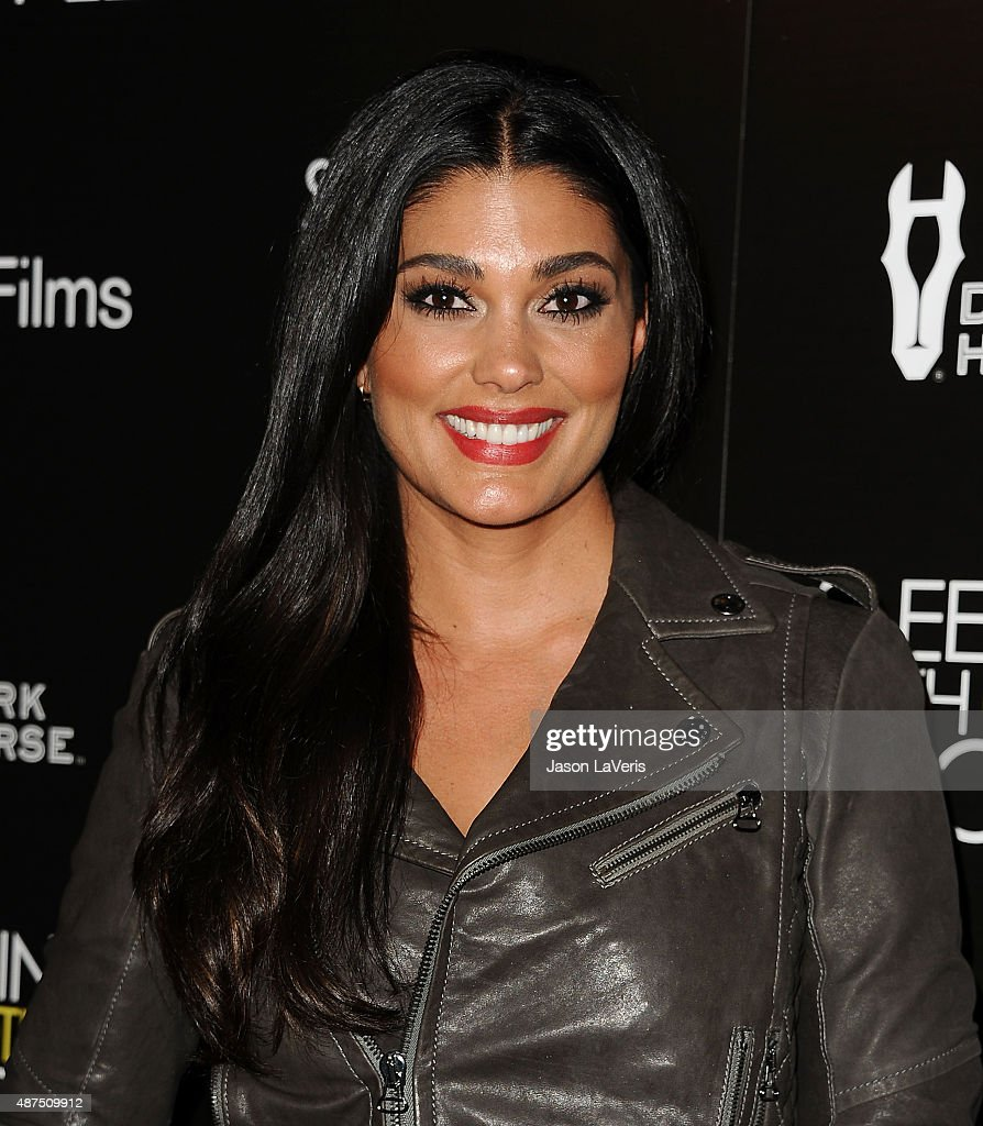Designer Rachel Roy attends the premiere of 'Sleeping With Other People' at ArcLight Cinemas on September 9, 2015 in Hollywood, California.