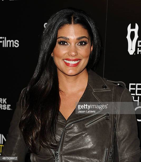 Designer Rachel Roy attends the premiere of 'Sleeping With Other People' at ArcLight Cinemas on September 9 2015 in Hollywood California