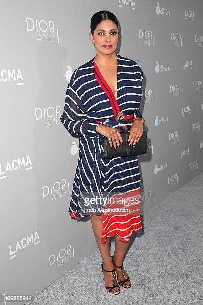Designer Rachel Roy attends the premiere of The Orchard's 'DIOR I' at LACMA on April 15 2015 in Los Angeles California