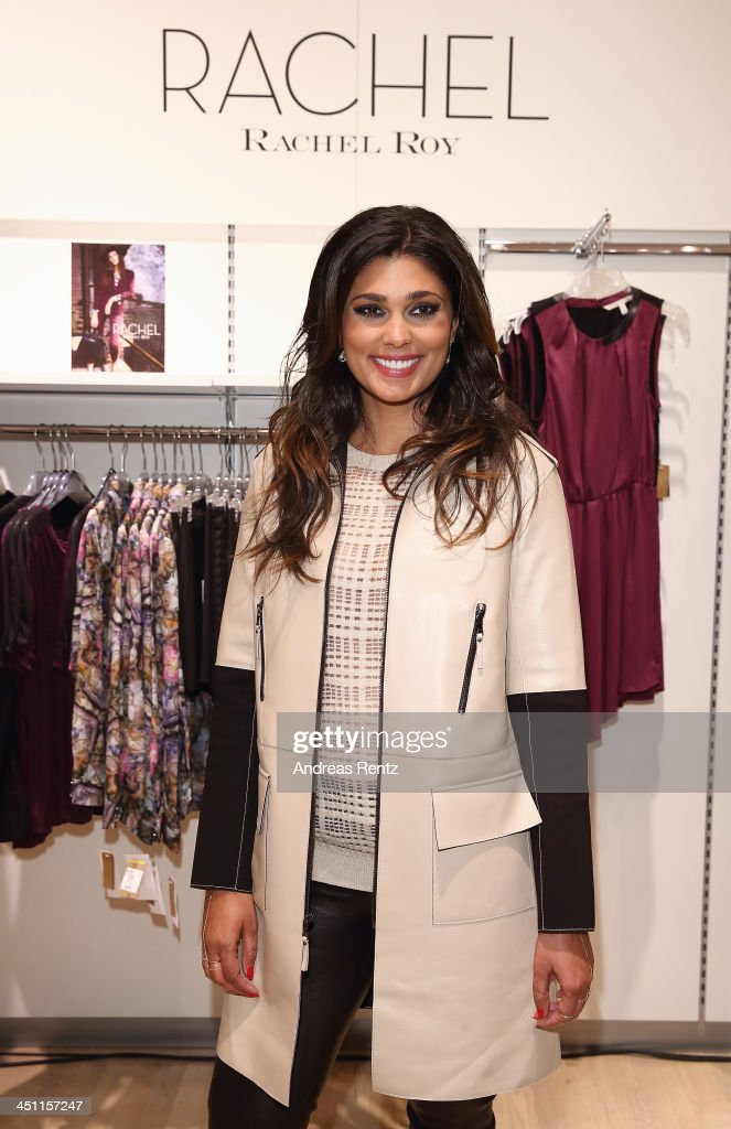 Designer Rachel Roy attends the Rachel Roy collection presentation at Karstadt on November 21, 2013 in Hamburg, Germany.