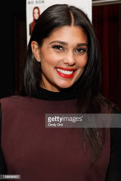 Designer Rachel Roy attends the Rachel Roy fall 2012 presentation during MercedesBenz Fashion Week at Alice Tully Hall at Lincoln Center on February...