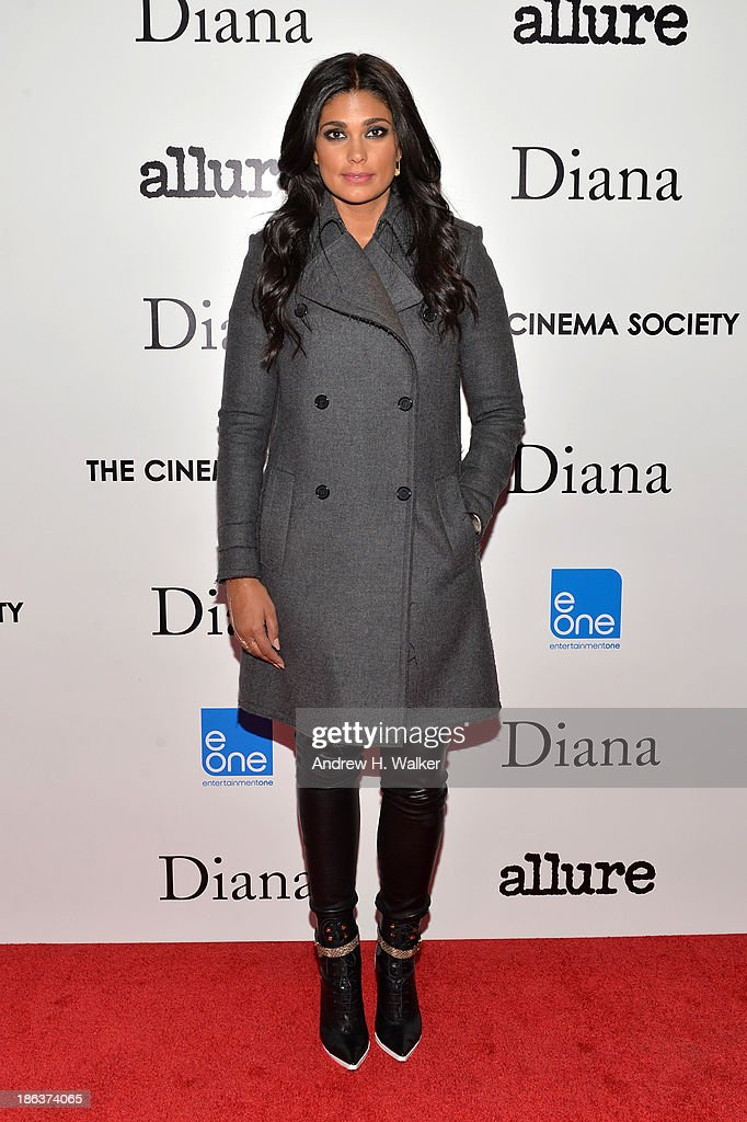 Designer Rachel Roy attends the screening of Entertainment One's 'Diana' hosted by The Cinema Society With Linda Wells and Allure Magazine at SVA Theater on October 30, 2013 in New York City.