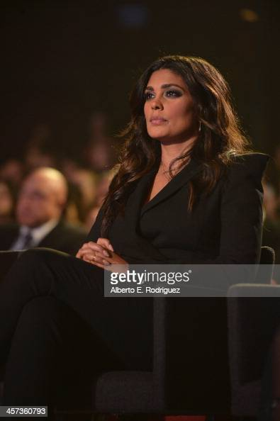 Designer Rachel Roy attends the 'Under The Gunn' Finale Fashion Show at Los Angeles Theatre on December 16 2013 in Los Angeles California