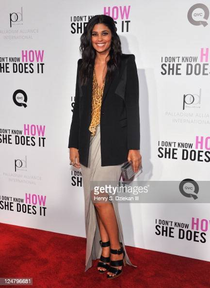 Designer Rachel Roy attends The Weinstein Company The Cinema Society With QVC Palladium premiere of 'I Don't Know How She Does It' at AMC Loews...